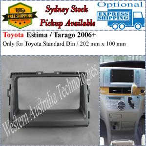 Fascia facia Fits Toyota Estima Tarago 2006+ Double Two 2 DIN Dash Kit