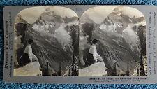 Mt. Sir Donald, British Columbia, Canada. Stereoview card