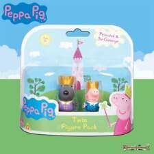 Princess Peppa Pig Two Figure Twin Pack - Sir George & Prince Danny