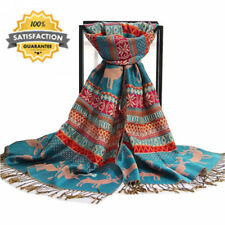 Tassels 100% Cashmere Women's Scarves and Shawls
