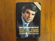 "TOM HOPKINS Signed Book(""HOW TO MASTER THE ART OF SELLING""-1982 Edition Hardback"