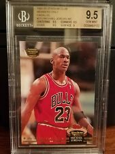1992-93 Stadium Club Members Only Michael Jordan Card #210 BGS 9.5 Gem Mint
