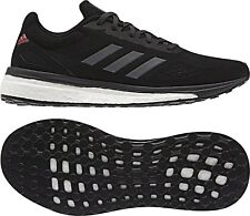 separation shoes a2690 d66c1 adidas Response LT BOOST Womens UK 4 EU 36 2 3 Black Running Shoes Trainers