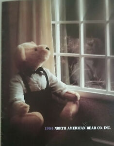North American Bear Co. Inc 1984 Store Catalog - Very Clean No marks or stickers