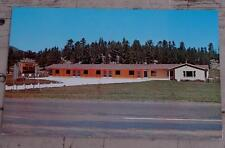 Vintage Color Photo Postcard, Valley Motel, South Dakota, VERY GOOD COND