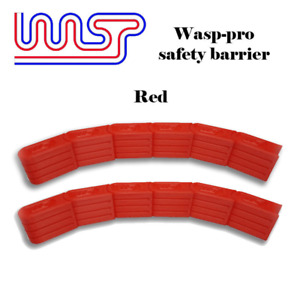 Slot Car Track Scenery Red Barriers x 12 1:32 Scale NEW Wasp