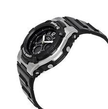 Casio Women's Baby-g Bga110-1b2 Black Resin Quartz Watch