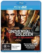 Universal Soldier 4 - Day Of Reckoning (Blu-ray, 2013, 2-Disc Set)