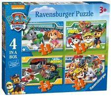 NEW! Ravensburger Paw Patrol Just Yelp for Help 4 in a box jigsaw puzzle Age 3+