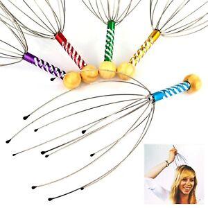 Kopfmassagegerät Kopfmassage Massage Kopfkrauler Wellness 5 verschiedene Farben