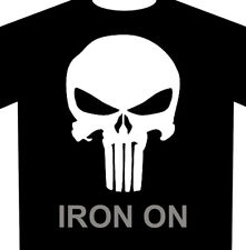 Punisher Skull Iron-On - Heat Transfer Vinyl HTV