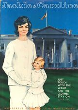 Vintge Uncut 1960S Jackie Carol Paper Doll Laser Reproducton~Lo Pr~Hi Qu Free Sh