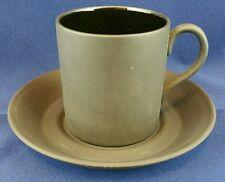 WEDGWOOD BLACK BASALTO tazza di caffè / può 5.5 cm di altezza con 10.5 cm di larghezza PIATTINO
