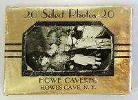 Vintage c1920s HOWE CAVERN SOUVENIR MINI PHOTO CARDS 20 Pack Howes Cave New York