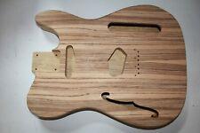 Korina Tele Body Zebrano Top Guitar Guitar making Telecaster Hollow Body