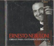C.D.MUSIC E603  ERNESTO NEBULONI / OBRAS PARA GUITARRA ESPANOLA . CD