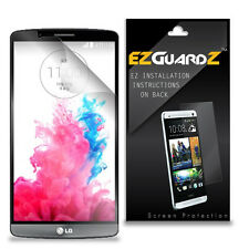 4X EZguardz LCD Screen Protector Skin Cover Shield HD 4X For LG G3 F490L, K