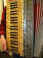 HOHNER Akkordeon Vintage Original Koeln 1930 Luxusausfuehrung/ RARITY Accordion
