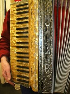 HOHNER Akkordeon Vintage Original Koeln 1930 Luxusausfuehrung/ RARITY Accordion