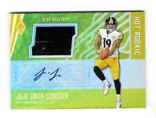 JuJu Smith Schuster 2017 PHOENIX ROOKIE AUTOGRAPH RELIC CARD #/10 Steelers AUTO