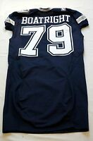 #79 Kenneth Boatright of Dallas Cowboys NFL Locker Room Game Issued Jersey