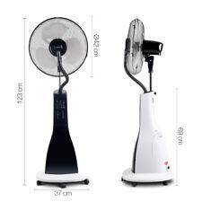 40cm Misting Fan Portable Cool Breeze Mist Fan Ventilate 3L Water Tank Pedestal