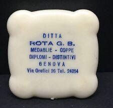 [62125] OLD PLASTIC CASE DITTA ROTA GREAT BRITAIN MEDALS & CUPS OF GENEVA