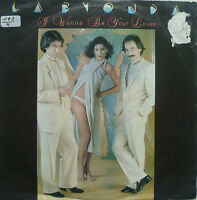 "7"" 1980 RARE! LA BIONDA : I Wanna Be Your Lover /MINT-"