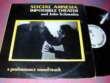 SOCIAL Amnesia Impossible THEATER 2 LP Leftist BALTIMOR
