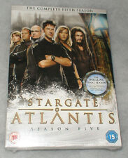 Stargate Atlantis Season 5 Five DVD Complete Box Set UK R2 NEW & SEALED
