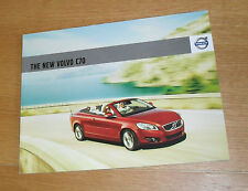 Volvo C70 Brochure 2010 inc Price & Specification - S SE SE Lux D5 2.0D T5 2.4i