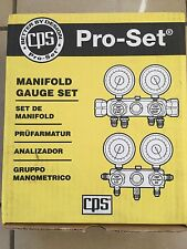 Manifold Gauge R410a Air Conditioning  Refrigeration  Car A/C CPS Pro-set