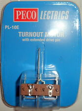 New Peco PL-10e Turnout Motor Switch (Extended Pin)