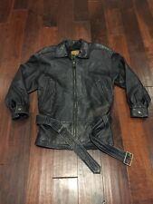 Express Belted Leather Jacket Womens XS Avenue De L'Opera