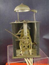 alte Eisenuhr Wanduhr mechanische Eisenuhr alte Uhr Großuhr  [1906-143