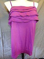 Lane Bryant casual cotton modal strapless Tube Top Shirt plus size 22/24 ..
