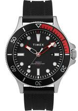 Orologio Uomo TIMEX ALLIED COASTLINE TW2T30000 Silicone Nero Sub 100mt NEW