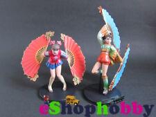 """Dynasty Warriors MUSOU 3 Character Figures """" Xiao Qiao """" , """" Da Qiao"""" KOEI"""