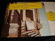 BACH°TOCCATA AND FUGUE<>KARL RICHTER<>Lp VINYL~Germany Pressing~DGG 138 907