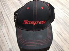 🔥SNAP-ON Tools Black Baseball Cap Hat with Wrench Deliberate Distressed Edges🔥