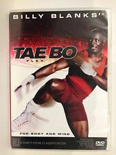 BILLY BLANKS ~ TAE BO FLEX ~ FOR MIND AND BODY ~ DVD ~ ALL PAL REGIONS WORLDWIDE