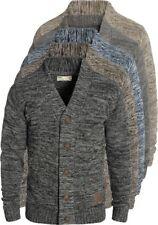 SOLID Herren Powell Strickjacke Cardigan mit V-Ausschnitt aus 100% Baumwolle Neu