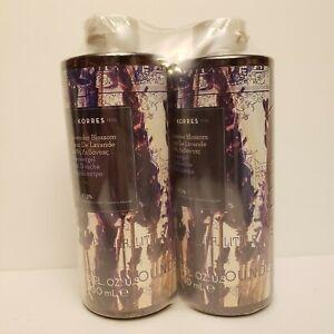 KORRES Lavender Blossom Shower Gel 13.53 oz Natural Sooth Moisturize Lot of 2