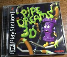 Pipe Dreams 3D (Sony PlayStation 1, 2001) COMPLETE PS1