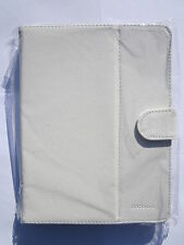 White Multi Angle Carry Case Stand for AVOCA STB8098 8 inch Tablet