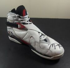Michael Jordan GAME USED SHOE Auto Signed Autographed Worn 1992 1993 Air 8 VIII