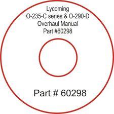 Lycoming O-235-C series & O-290-D Overhaul Manual Part #60298