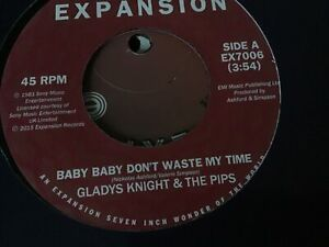 Gladys Knight - Baby Baby Don't Waste My Time
