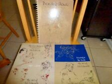 (3) Drawing Sketchbooks art lot by Sol Schwartz with multiple autographs