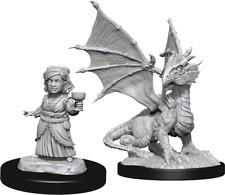 Dungeons & Dragons Nolzur's Marvelous Unpainted Miniatures: W13 Silver Dragon Wy